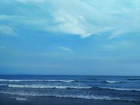 云天海滩风景