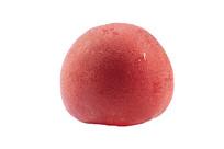 白底上的新鲜红色西红柿