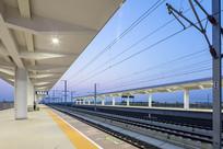 临淄北站的高速铁路