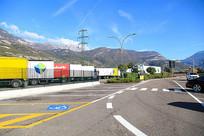 欧洲高速公路服务区