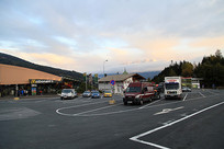 欧洲高速公路上的服务区