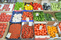 俄罗斯水果市场