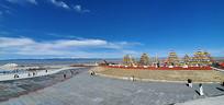 青海的蓝色天空