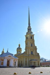 俄罗斯圣彼得堡保罗大教堂