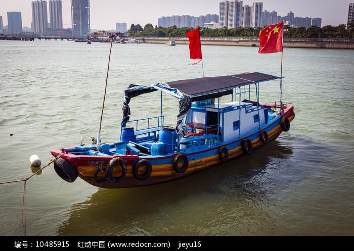 粤东汕头特色小渔船图片