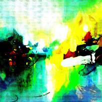 抽象艺术装饰画