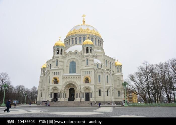 俄罗斯海军大教堂图片