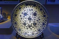 明代青花瓷盘
