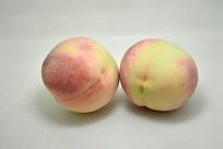 水蜜桃水果特写