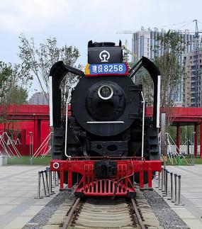 梅河口景观火车头