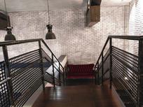 特写楼梯间