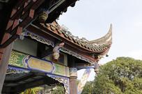 成都传统建筑飞檐