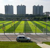 民间足球比赛场地