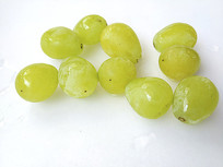 水嫩绿葡萄