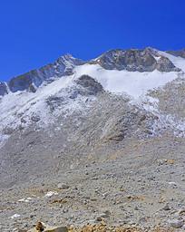 四川达古冰川雪峰及冰蚀地貌