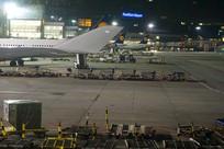 德国法兰克福机场航站楼夜景