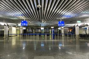 德国法兰克福机场候机厅登机口