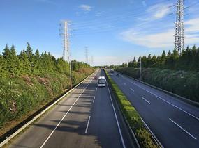 高速路风景图