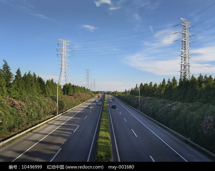 一路风景高速路图片
