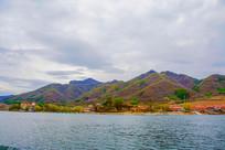 丹东宽甸青山湖与群山住宅群