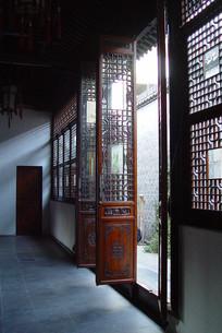 合肥李鸿章故居中厅中式门窗