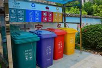 回收站的垃圾桶