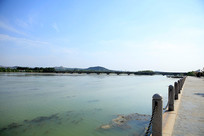 淄博市临淄太公湖风光