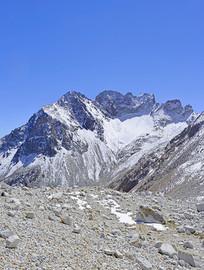 阿坝达古冰川雪峰及冰蚀地貌