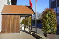 汉诺威国际展览中心餐厅门楼