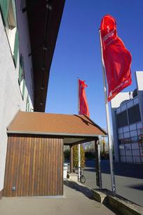 汉诺威国际展览中心餐厅门庭