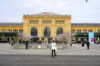 欧洲德国的汉诺威火车总站