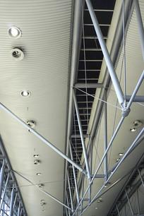 展览中心管道和照明设施