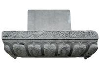 北京古观象台清代石柱纹饰浮雕