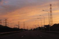 清晨工业区