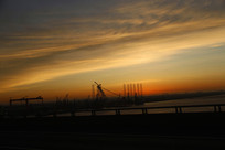 日出江岸码头