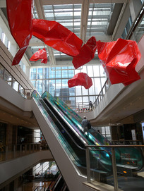 商场大厅室内装饰