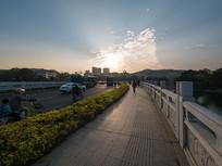 惠州西湖圆通桥风光
