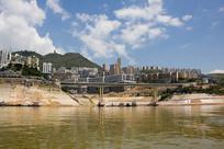 建设中的巫山县城