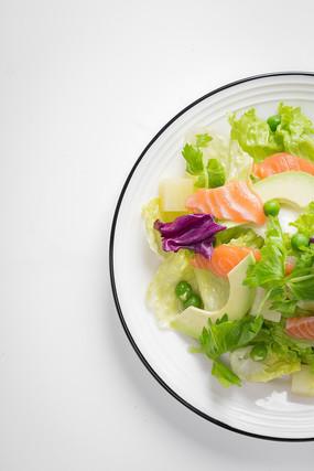 牛油果三文鱼沙拉
