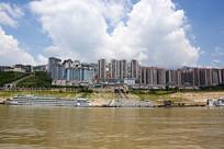 位于三峡水库的巫山县城