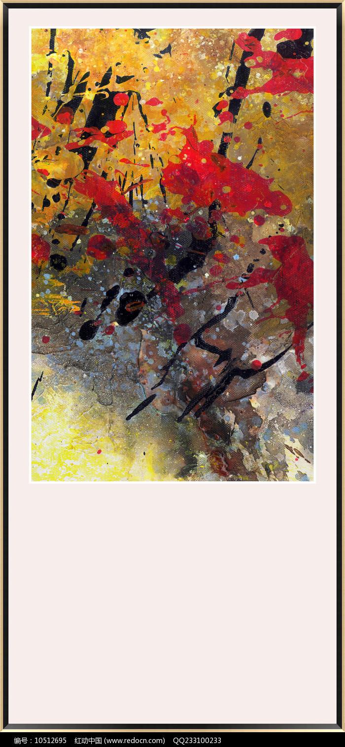 北欧简约现代抽象画图片