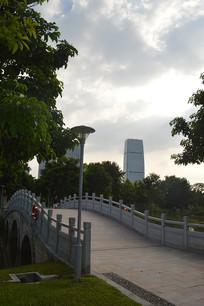 广州儿童公园桥梁