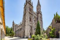 济南洪楼教堂建筑外观