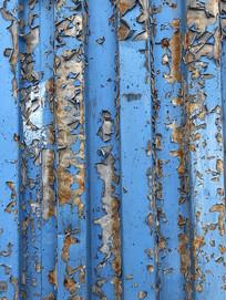 金属表面锈迹斑驳油漆起皮纹理