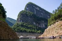 举世闻名的巫山小小三峡风景