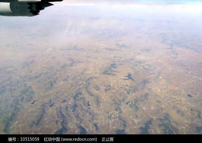 临沂祊河流域河流及丘陵地貌图片