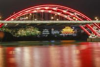 柳江大桥夜景