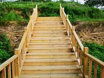 木梯步道图片