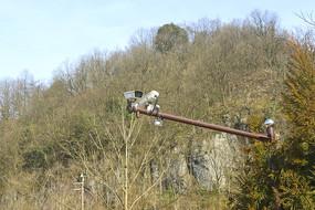 森林防火监控检测系统的摄像头