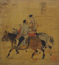 宋代佚名文姬图